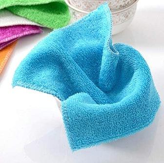 Saibor Bamboo Odor Free Dishcloths (6-Pack)