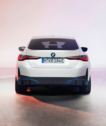 BMW i4 electric sedan. Electric vehicles. Electric cars.