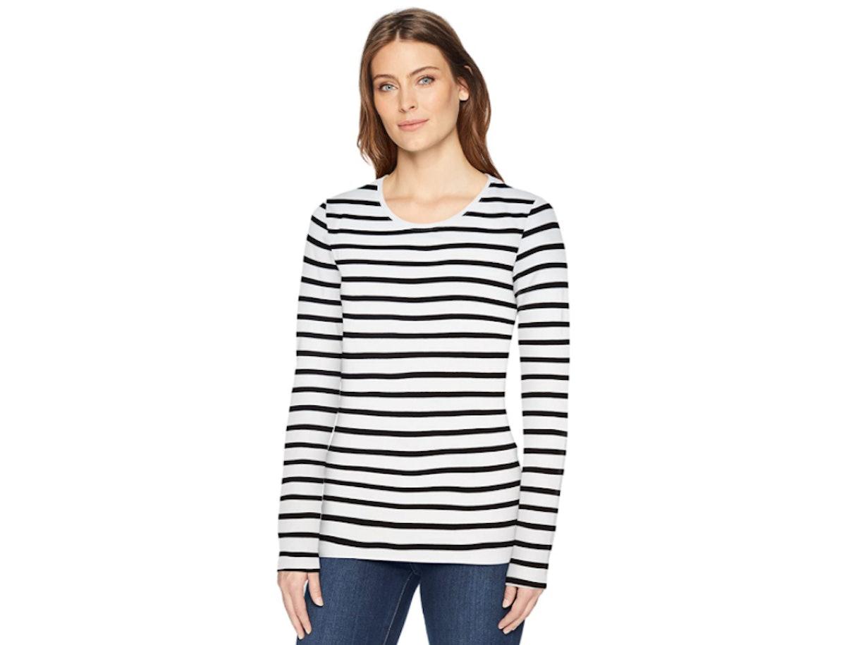 Amazon Essentials Classic-Fit Long-Sleeve Crewneck T-Shirt