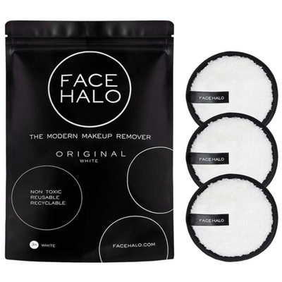 Face Halo Reusable Makeup Remover Pads (3-Pack)
