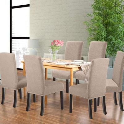 Northern Brothers Dining Room Chair Slipcovers (4-Pack)
