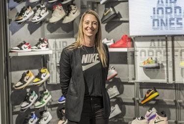 Nike VP Ann Hebert son Joe Hebert sneaker reselling