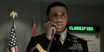 Harry Lennix in 'Man of Steel'
