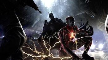 The Flash Flashpoint Concept Art