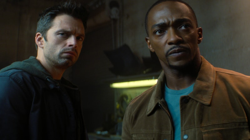 Sebastian Stan & Anthony Mackie star in 'The Falcon & The Winter Soldier'
