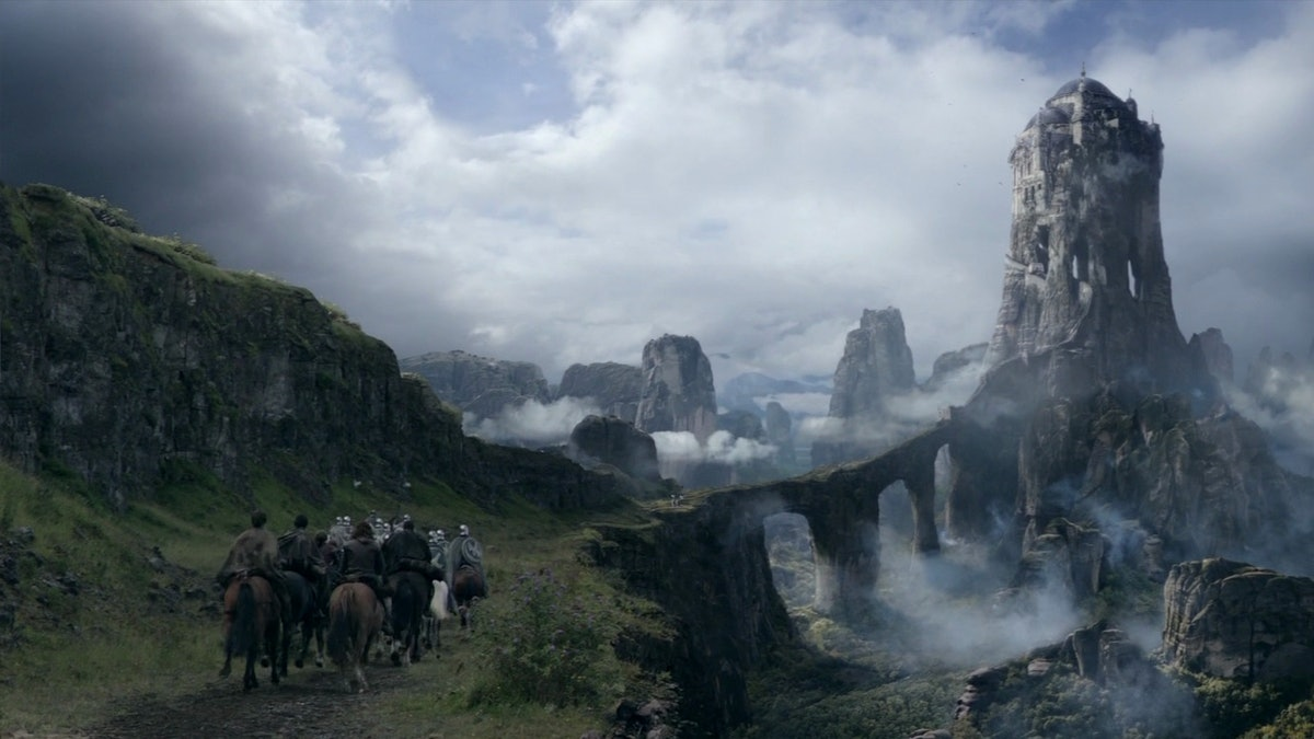The Eyrie in the Vale in Game of Thrones