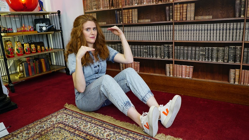 Sarah Kendall in 'Taskmaster' series 11