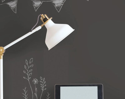 Chalkboard Peel and Stick Wallpaper