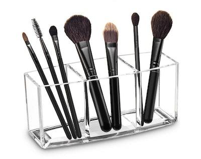 Watpot Acrylic Makeup Brush Organizer