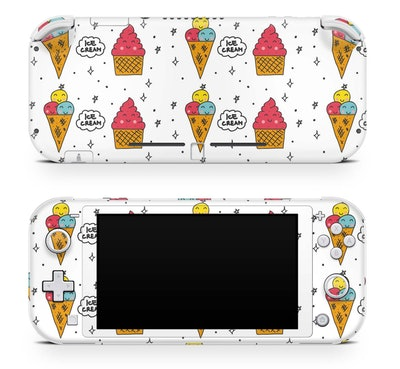 Nintendo Switch Lite Skin Happy Ice Cream
