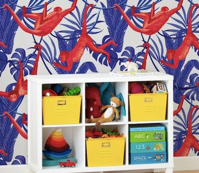 Wallpaper Happy Monkeys