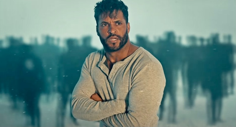 Ricky Whittle as Shadow Moon in 'American Gods' Season 3