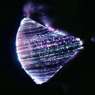 Light Up Face Mask