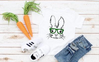 Hipster Bunny Shirt