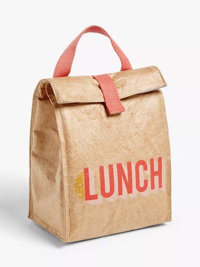 LEON Reusable Paper Lunch Cooler Bag