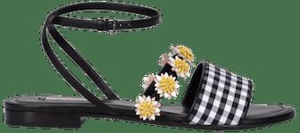 Bea Ankle Strap Flat Sandal