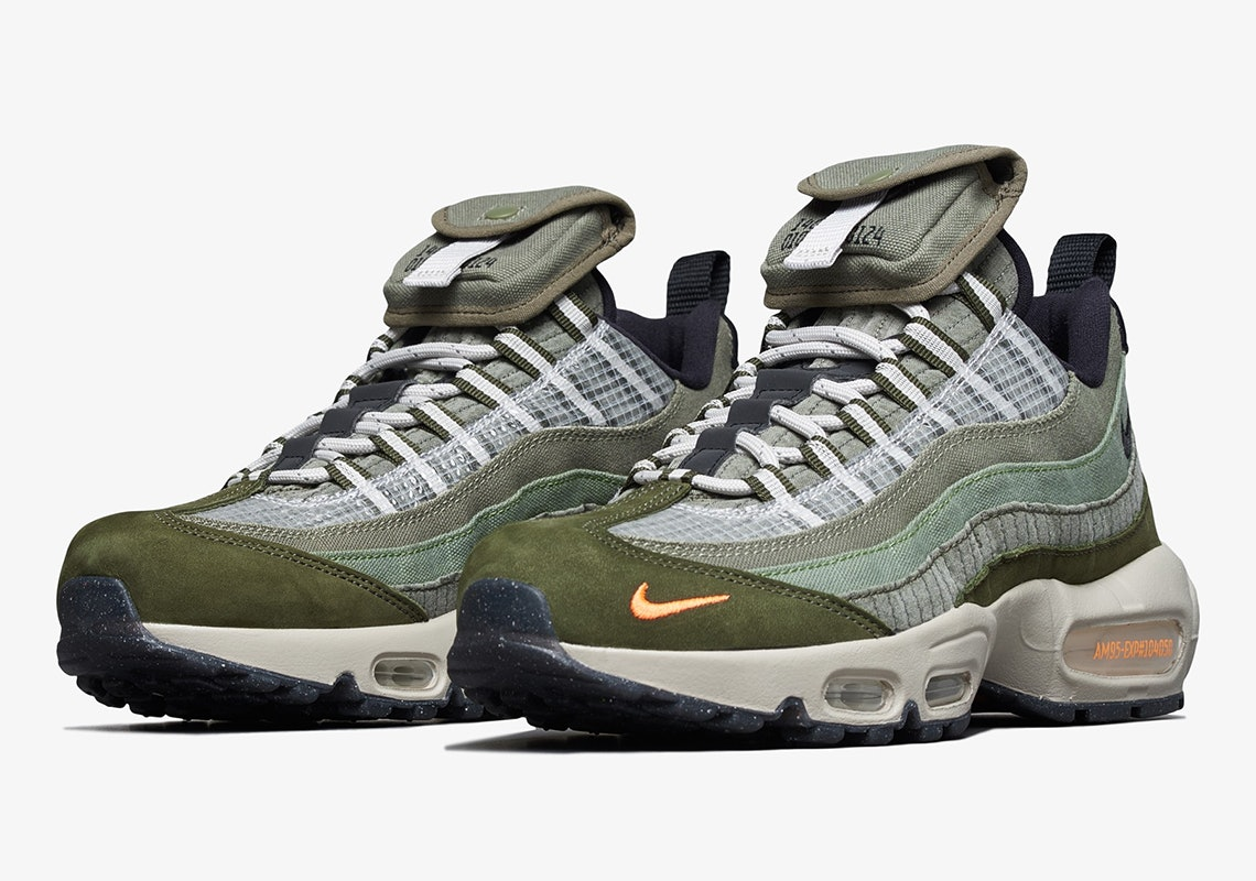 Nike made an Air Max 95 shoe with cargo pockets for all your extra ...