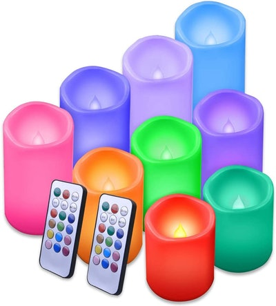 Enido Flameless LED Candles (9 Pack)