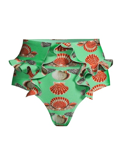 Seashell Ruffle Bikini Bottom