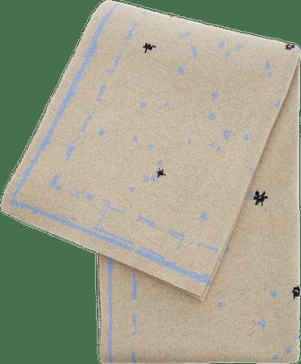 Constellation Printed Cashmere Rug