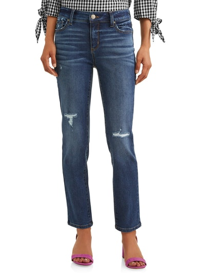 Modern Mid-Rise Straight Jean