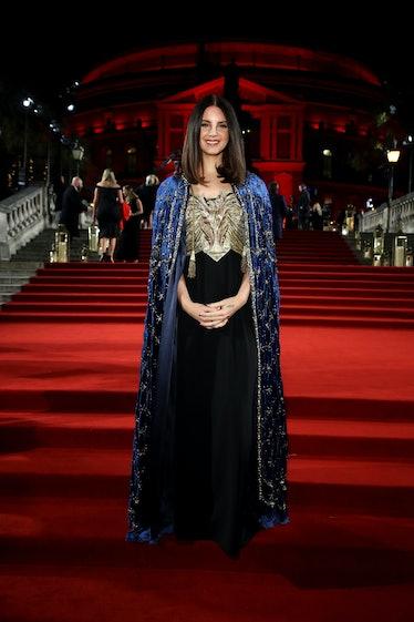 Lana Del Rey on a red carpet