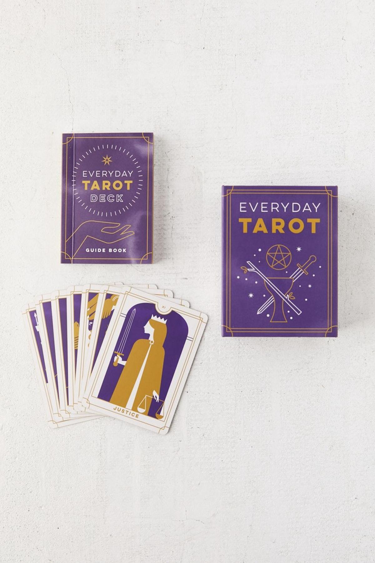 Everyday Tarot Mini Tarot Card Deck + Guide Book By Brigit Esselmont