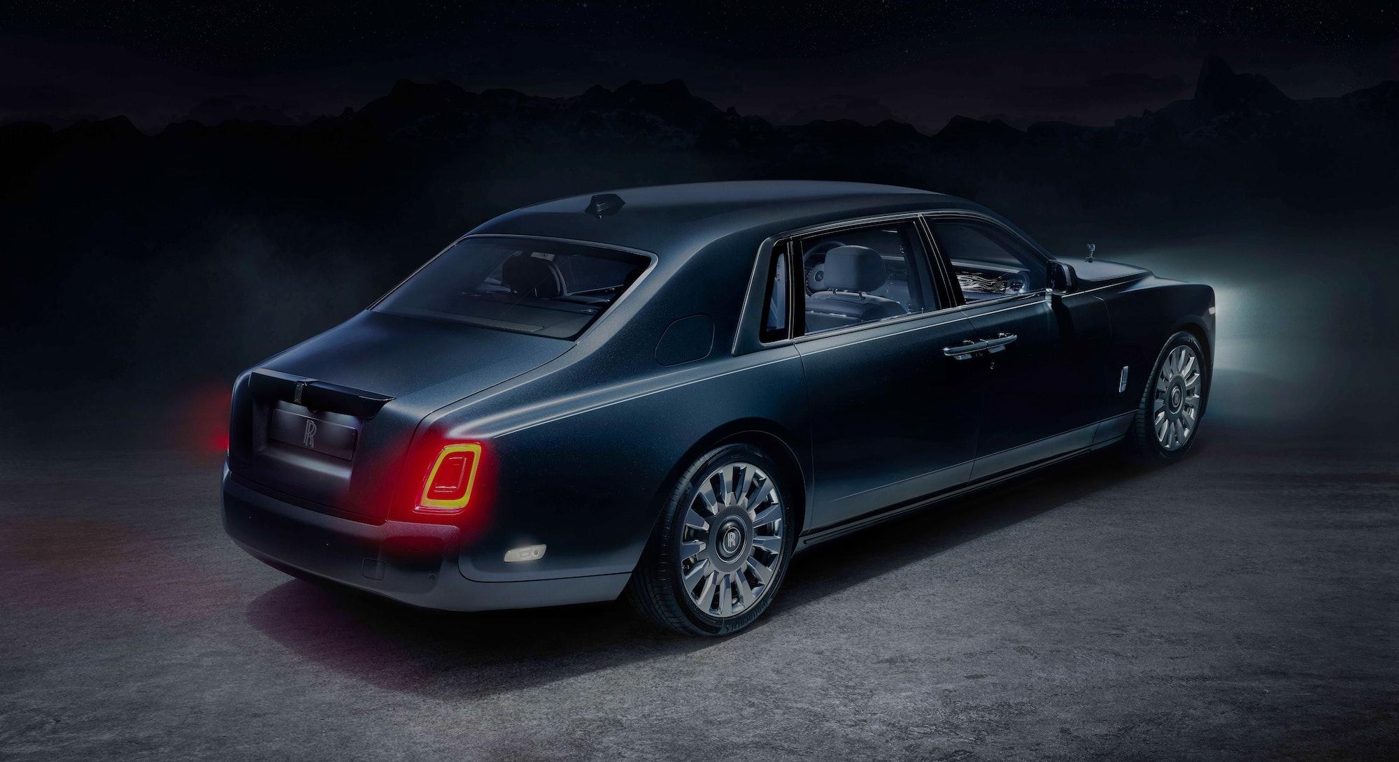The Rolls-Royce Phantom Tempus