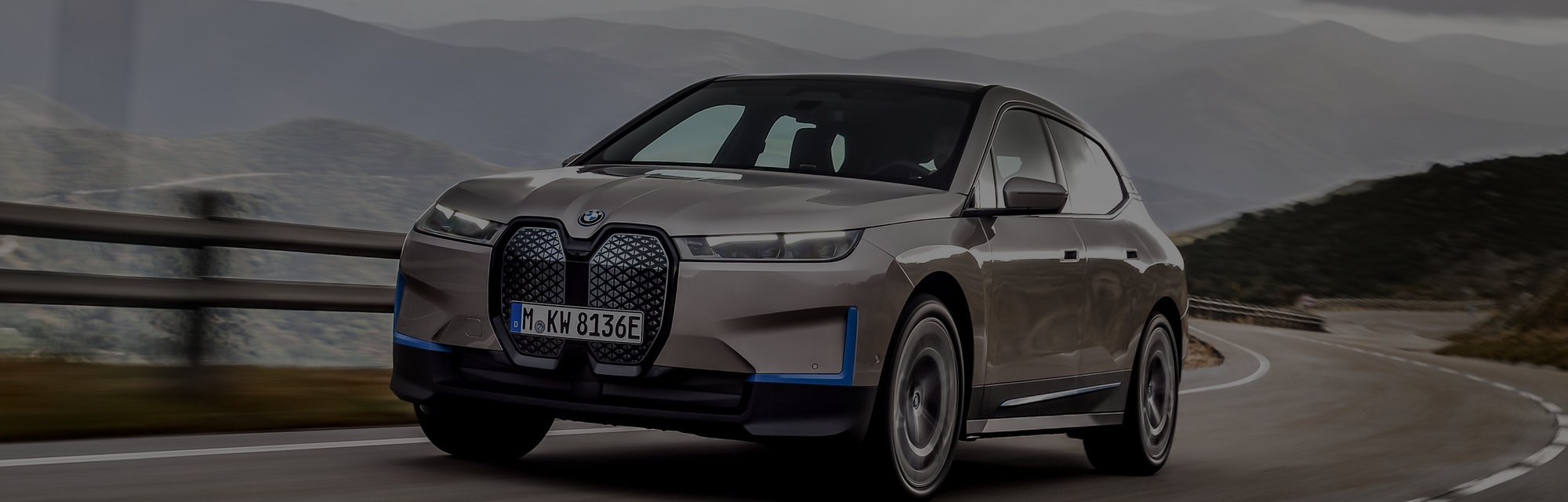 BMW's iX electric SUV, set to be released in 2021.