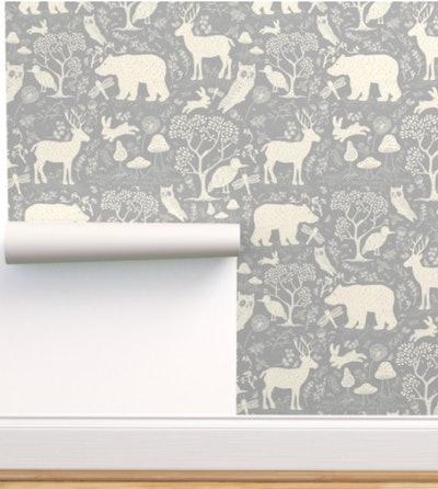 Peel-and-Stick Removable Wallpaper Gender Neutral