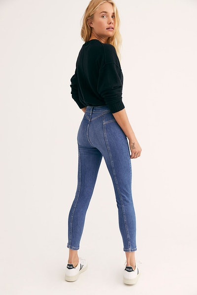 Riley Seamed Skinny Jeans