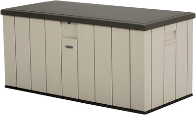 Lifetime Heavy-Duty Outdoor Storage Deck Box