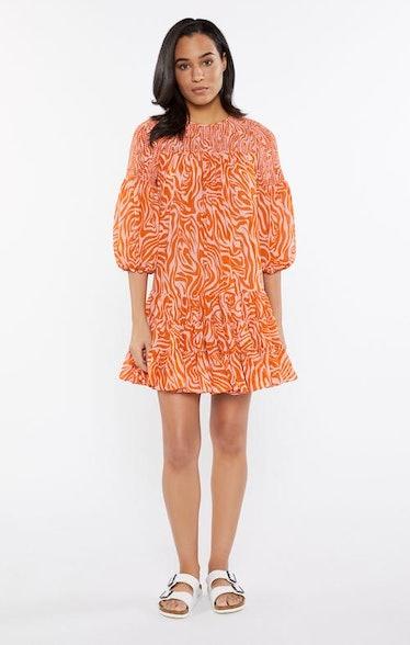 Billowed Sleeve Rika Dress