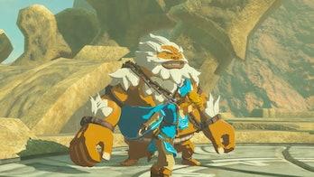 hyrule warriors age of calamity link daruk zelda