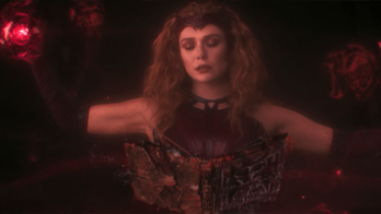 The Scarlet Witch in WandaVision.