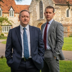 'Midsomer Murders' DCI John Barnaby (NEIL DUDGEON) and DS Jamie Winter (NICK HENDRIX)