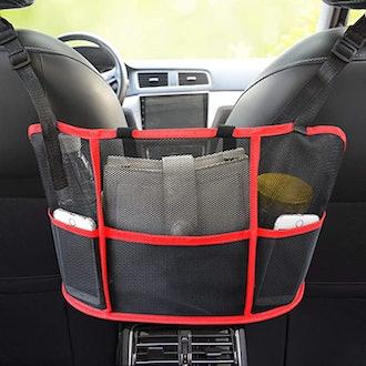 Vstarner Car Net Pocket Handbag
