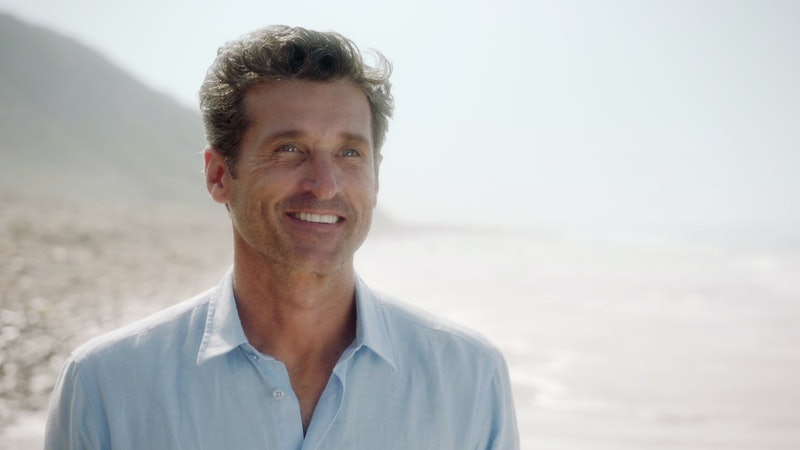 Patrick Dempsey as Derek Shepherd in 'Grey's Anatomy' via ABC's press site