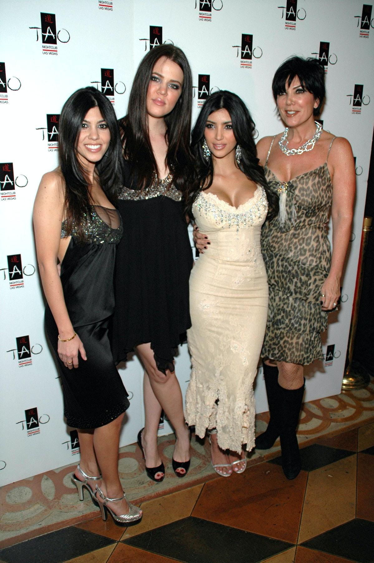 The Kardashians in earlier years.