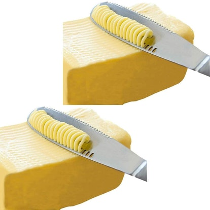 Simple preading Stainless Steel Butter Spreader Set of 2)