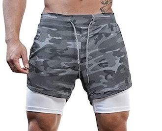 Surenow Mens Running Shorts