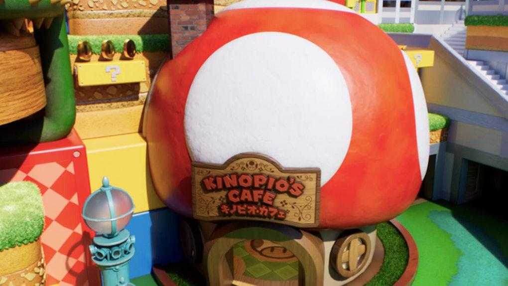 Super Nintendo World's Mario-themed food offerings look adorable.