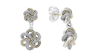Love Knot Drop Earrings