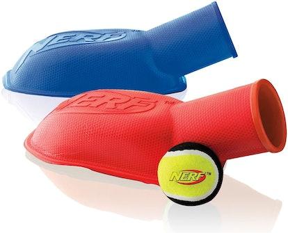 Nerf Dog Tennis Ball Stomp Launcher (2-Pack)