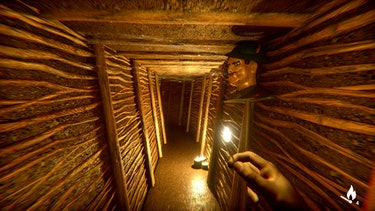 under depths of fear match light hallway horror