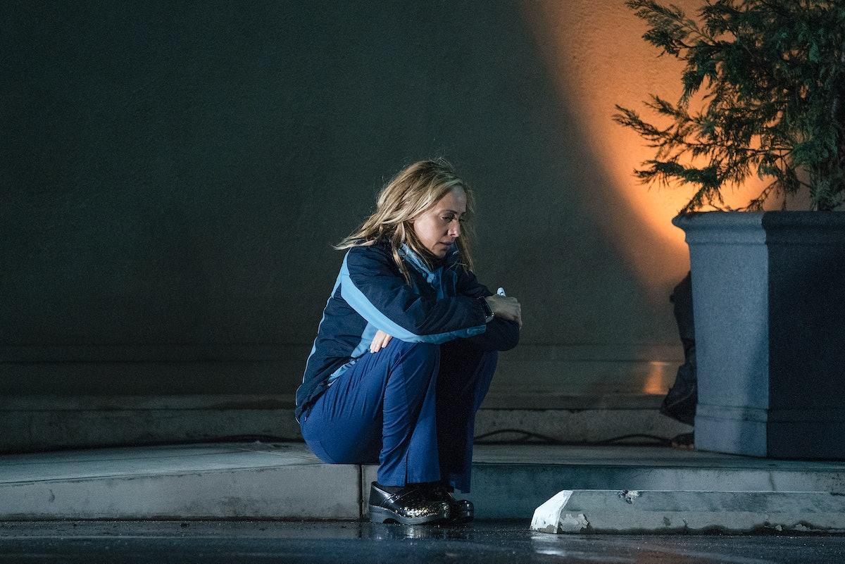 Kim Raver as Teddy Altman in Grey's Anatomy Season 17.