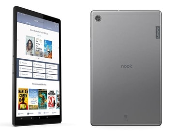 Barnes & Noble is releasing a new Nook-branded tablet developed by Lenovo.