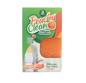 Peachy Clean Kitchen Scrubber