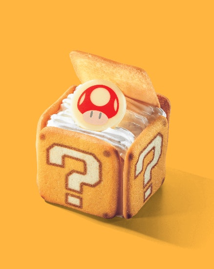 Super Nintendo World's Mario-themed food offerings are perfect for the 'Gram.