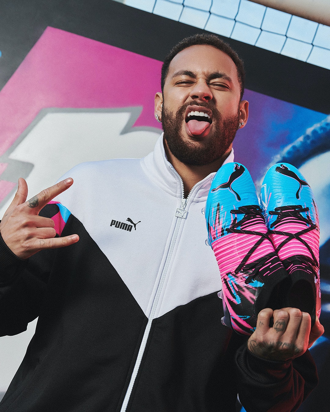Puma and soccer star Neymar drop flashy collection of shoes and ...
